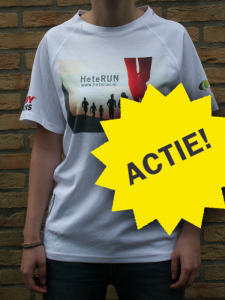 HeteRUN T-shirt actie!