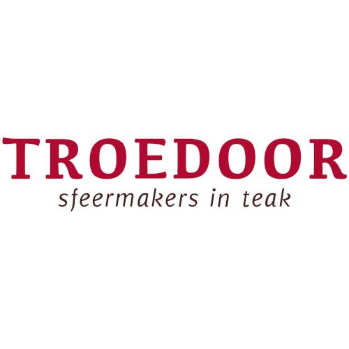 Troedoor, sfeermakers in teak